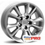 WSP Italy Opel (W2502) Strike 6,5x16 5x110 ET37 DIA65,1 (silver)